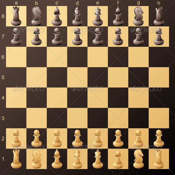 Chessboard - Sports/Activity Conceptual
