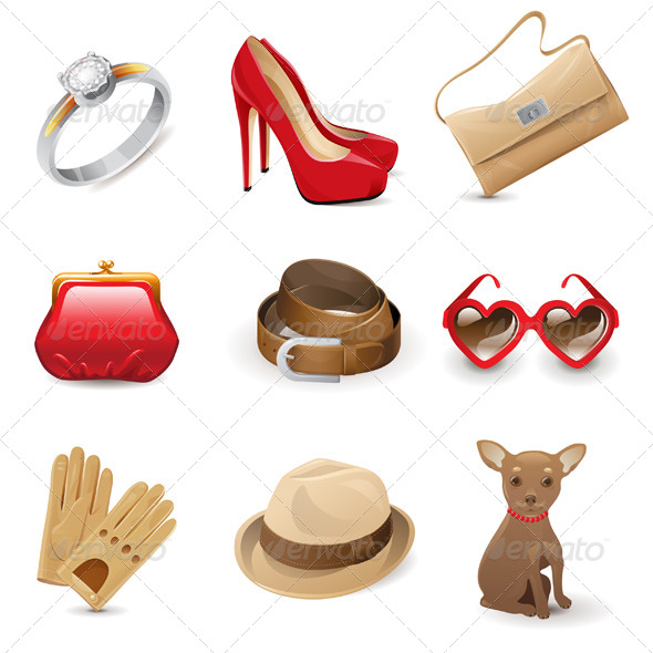 Accessories - Objects Vectors