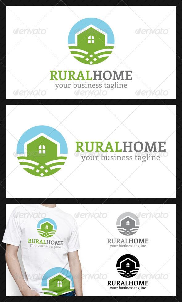 Rural Home Logo Template - Buildings Logo Templates