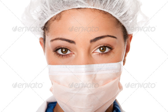 Doctor nurse eyes - Stock Photo - Images