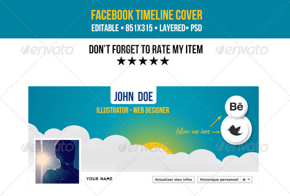 Creative Facebook Cover Timeline - Facebook Timeline Covers Social Media