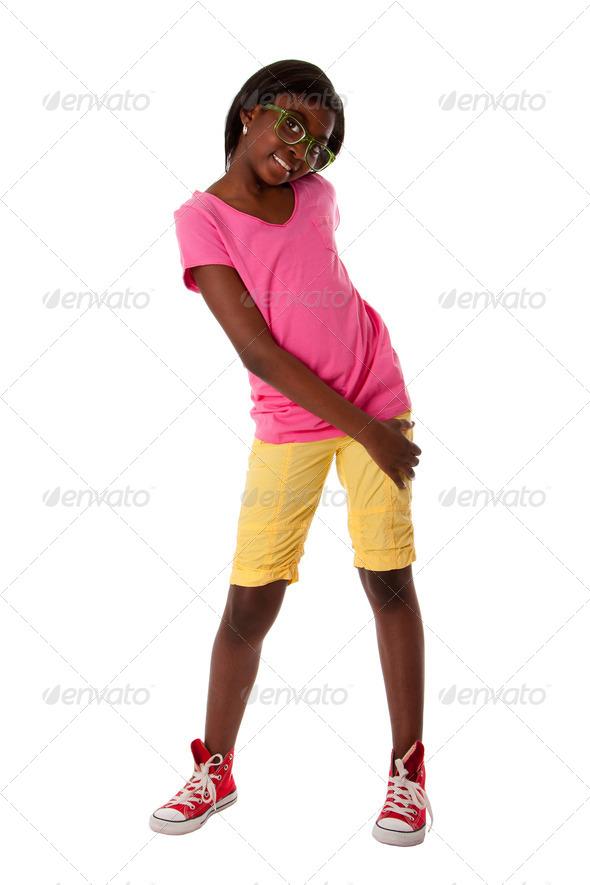 Happy teenage fashion - Stock Photo - Images