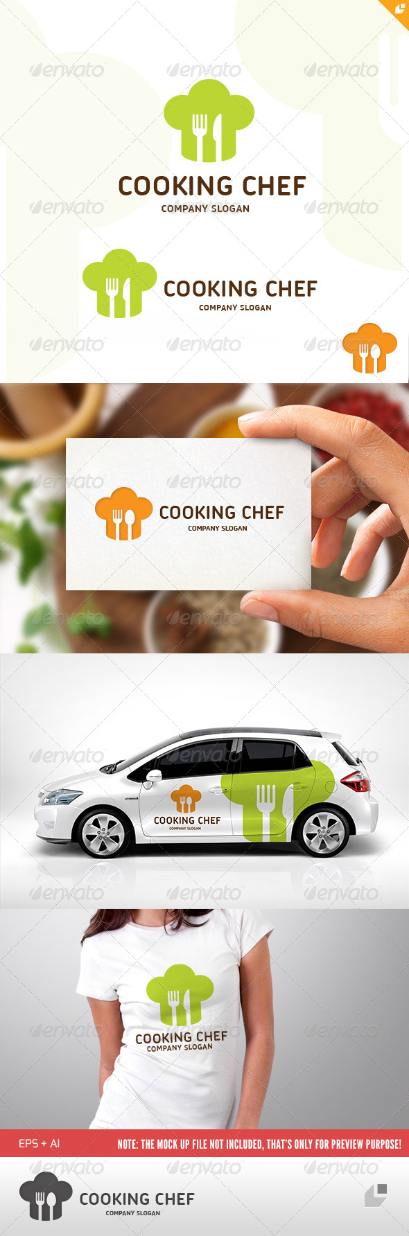 Cooking Chef Logo - Food Logo Templates