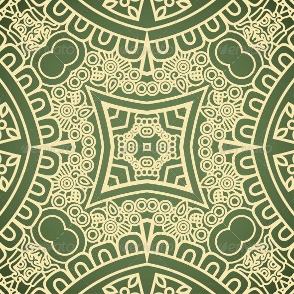 Vector Square Decorative Design Element - Patterns Decorative