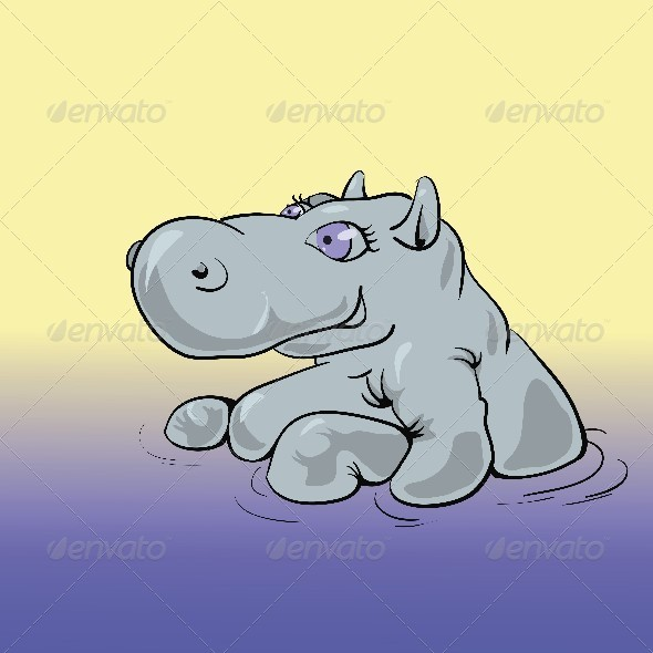 Hippo - Animals Characters