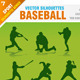 Baseball Silhouettes - GraphicRiver Item for Sale