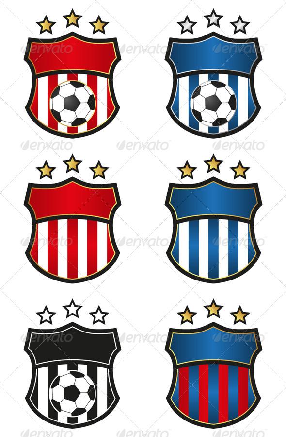 Soccer Team Emblem - Sports/Activity Conceptual