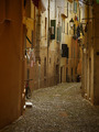 Narrow dark italian alley - PhotoDune Item for Sale