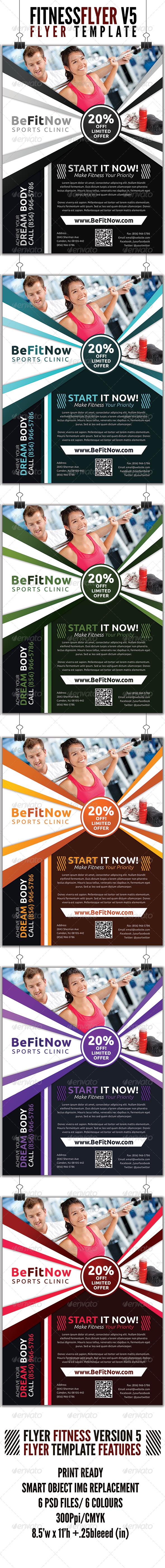 Fitness Flyer V5 - Commerce Flyers