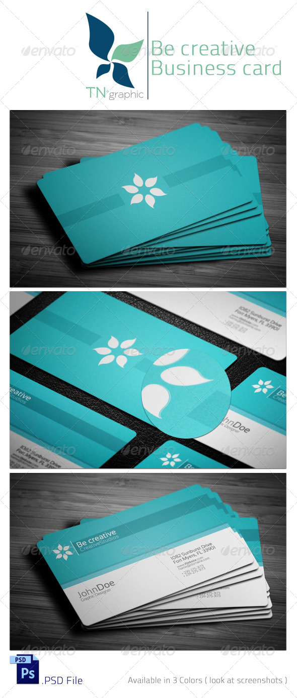 Corporate Business Card II - Corporate Business Cards