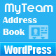 MyTeam - WordPress Members/Staff Address Book - CodeCanyon Item for Sale