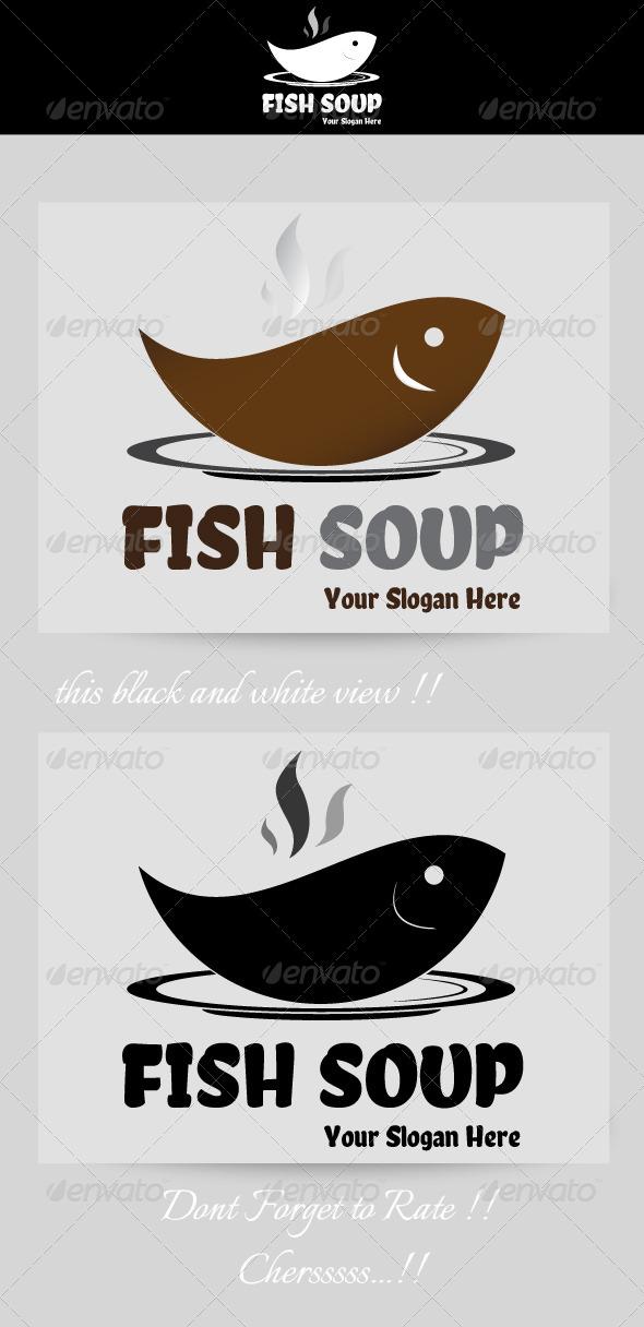 Fish Soup Resto Logo - Food Logo Templates