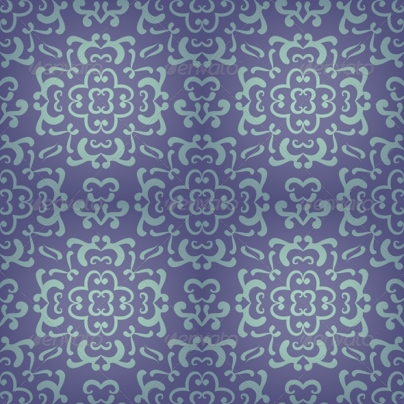 Ornamental Damask Pattern - Patterns Decorative