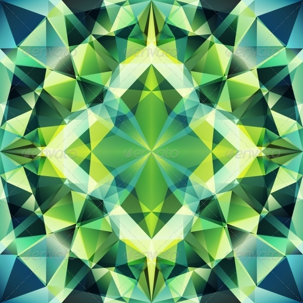 Abstract Triangle Background - Patterns Decorative