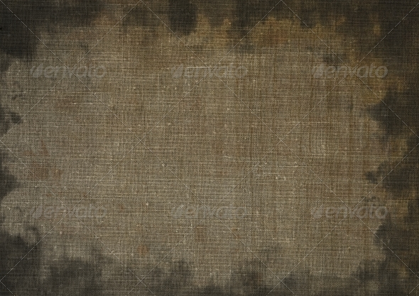 Stained canvas - Fabric Textures
