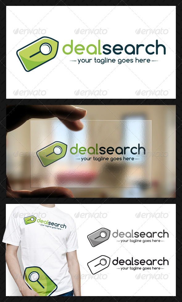 Deal Search Logo Template - Objects Logo Templates