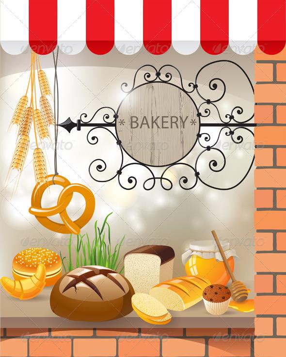 Bakery - Food Objects