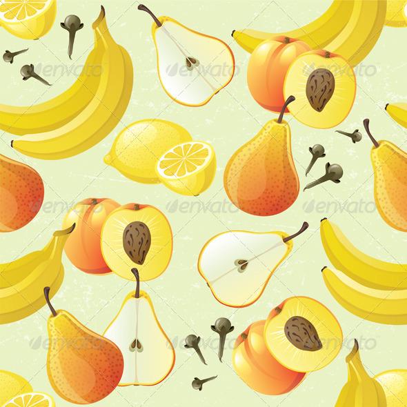 Fruit Seamless - Patterns Decorative