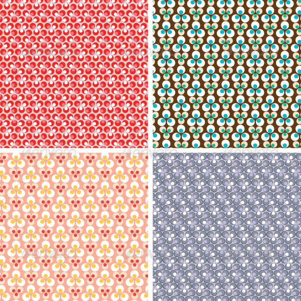 Geometric  Seamless Pattern - Backgrounds Decorative