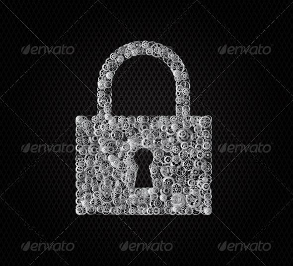 Lock - Conceptual Vectors