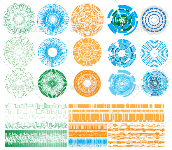 Design Elements - Technology Conceptual