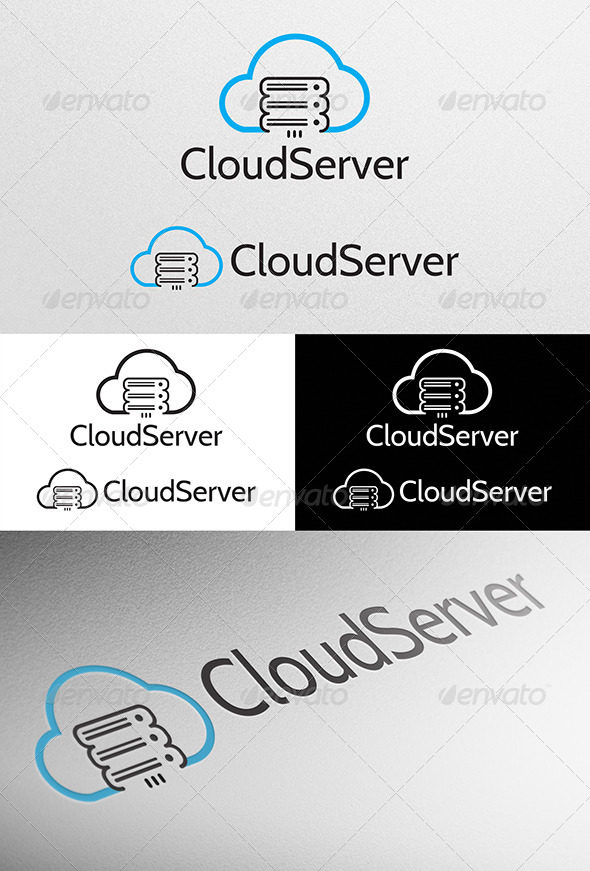 Cloud Server Logo - Logo Templates
