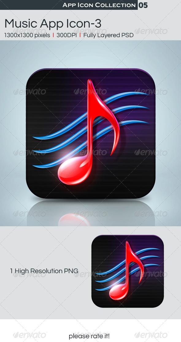 Music App Icon-3 - Icons