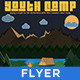 Youth Summer Camp -Retro/Vintage Poster  - GraphicRiver Item for Sale