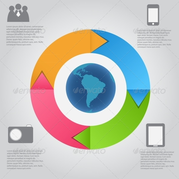 Infographic Template - Web Technology