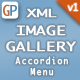 Image Gallery - XML with Dropping Thumbnail Effect, Slide Show & Navigation