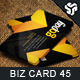 Business Card Design 45 - GraphicRiver Item for Sale