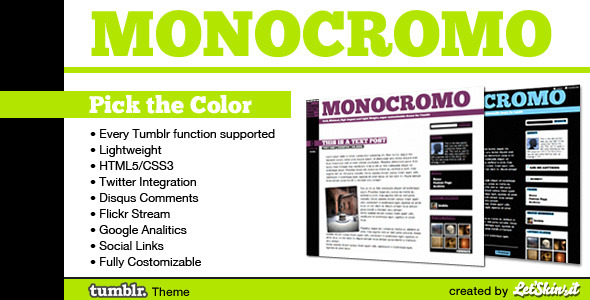 Free Download Monocromo Nulled Latest Version
