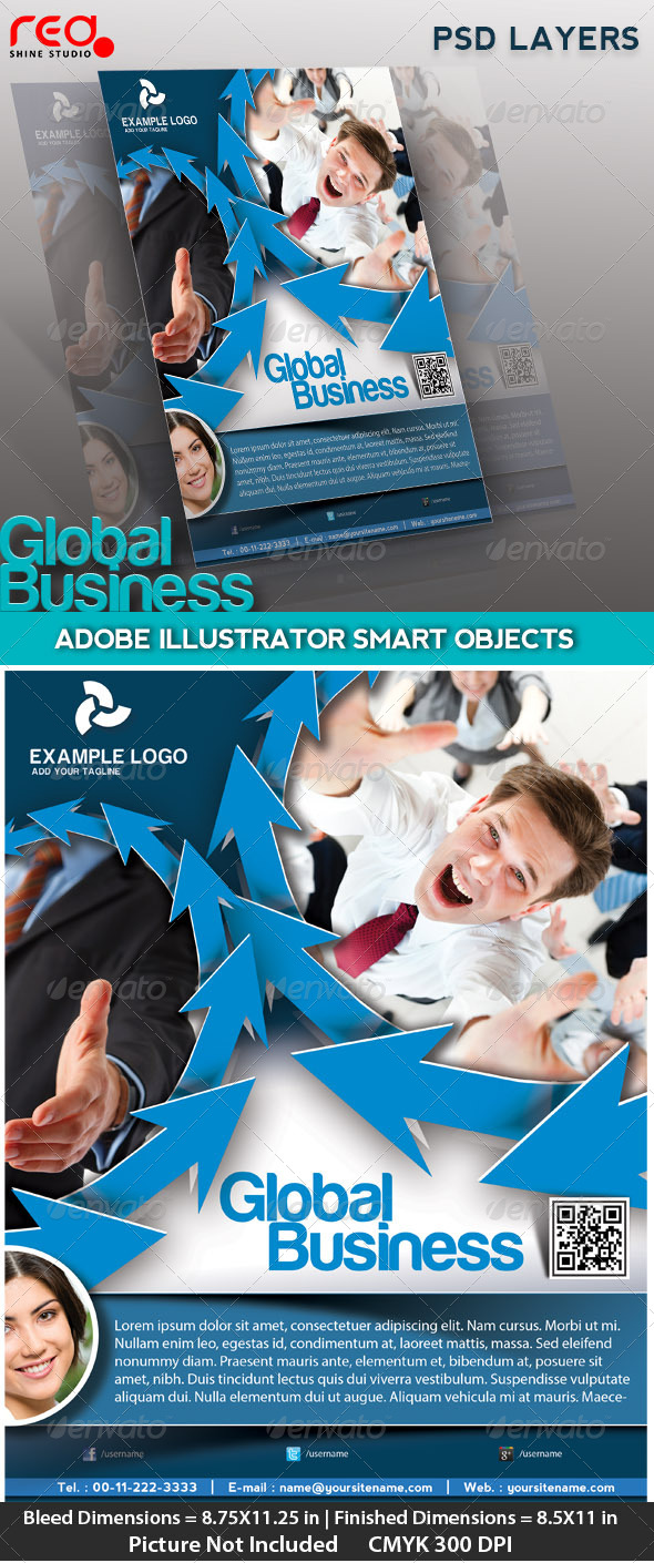 Business Flyer, Poster & Magzine Cover - Corporate Flyers