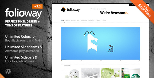 Folioway – Premium Portfolio WordPress Theme