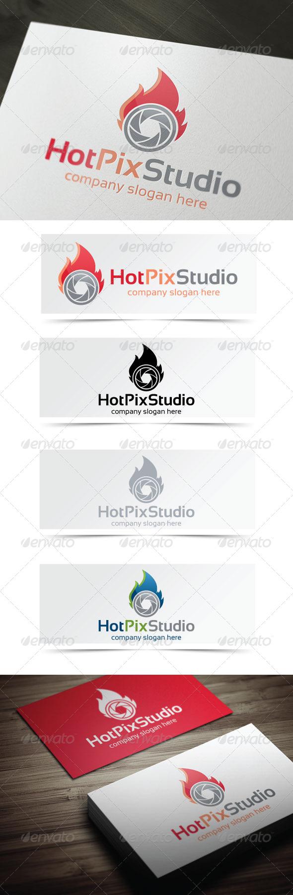 Hot Pix Studio - Objects Logo Templates