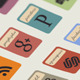 48 Retro Inspired Social Media Icons - GraphicRiver Item for Sale