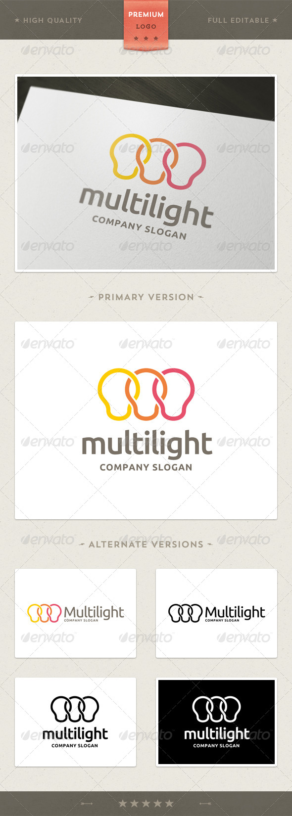 Multilight - Objects Logo Templates
