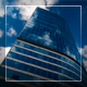 Clouds Over The Glass Building - VideoHive Item for Sale