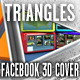 Triangles Fb 3D Cover - GraphicRiver Item for Sale