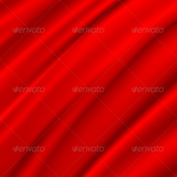 Red Silk Backgrounds - Fabric Textures