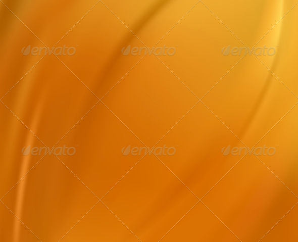 Orange Silk Background - Fabric Textures