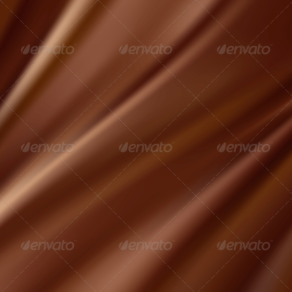 Abstract Chocolate Background - Fabric Textures