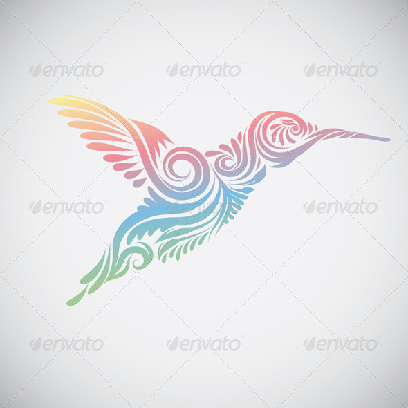 Hummingbird Ornamental - Animals Characters