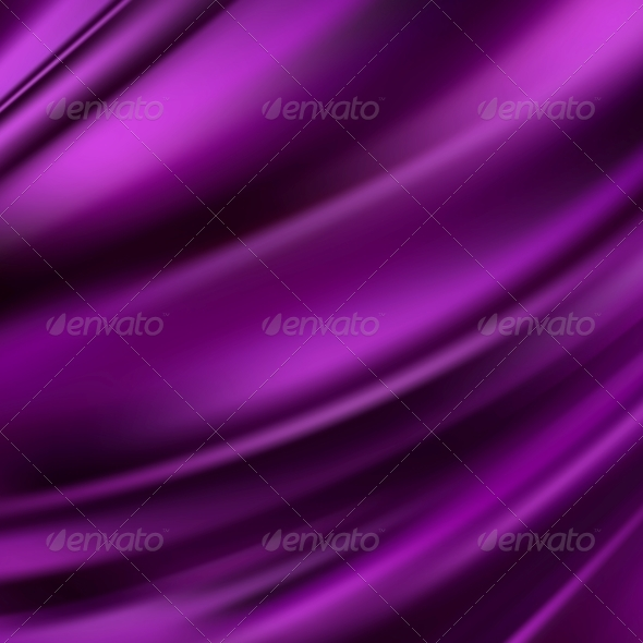 Purple Silk Background - Fabric Textures