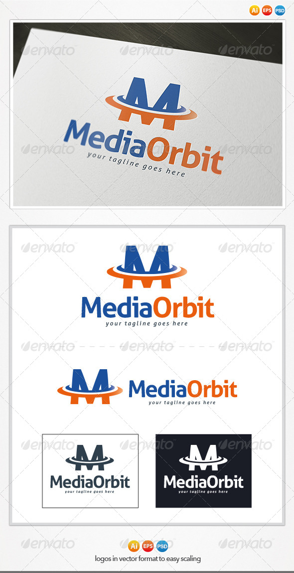 Media Orbit - Letters Logo Templates