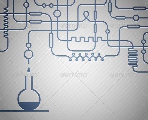 Science Laboratory - Health/Medicine Conceptual