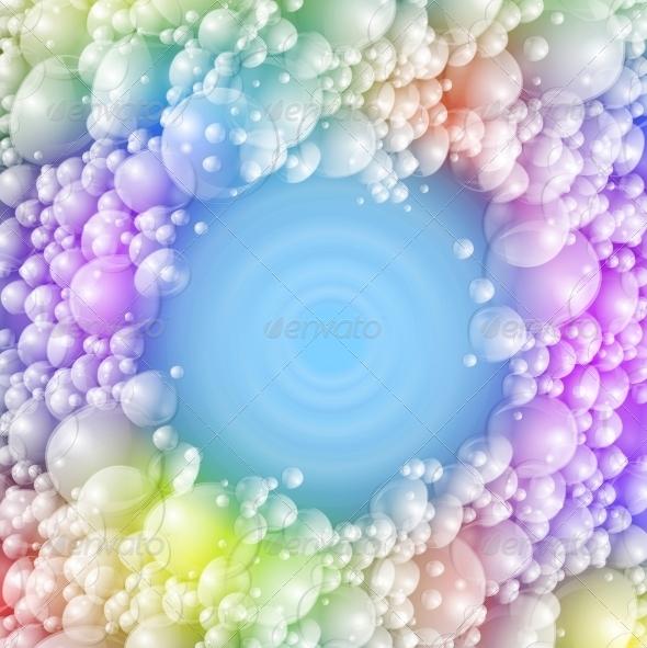 Colorful Foam - Backgrounds Decorative