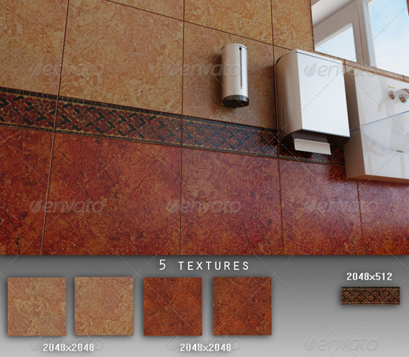 Professional Ceramic Tile Collection C021 - 3DOcean Item for Sale