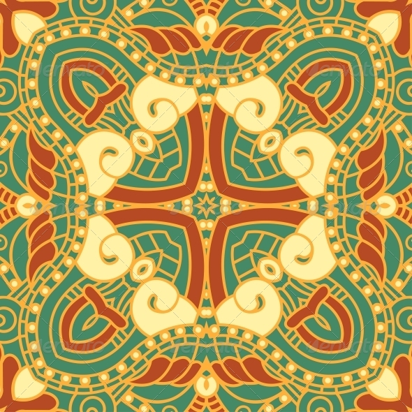 Vector Square Decorative Design Element - Patterns Decorative