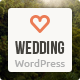 Wedding - Responsive Single Page WordPress Theme Nulled